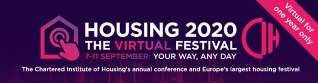 Virtual housing festival web banner