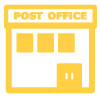 Post Office Yellow