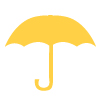 Brolly Yellow